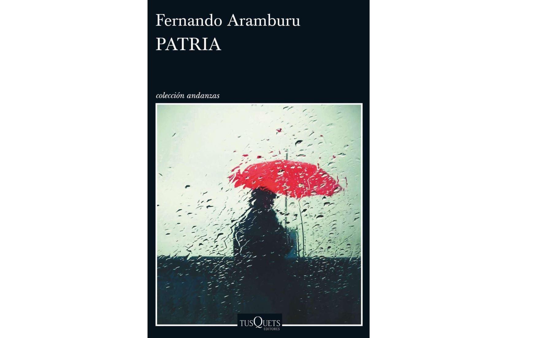 Portada de la novela Patria
