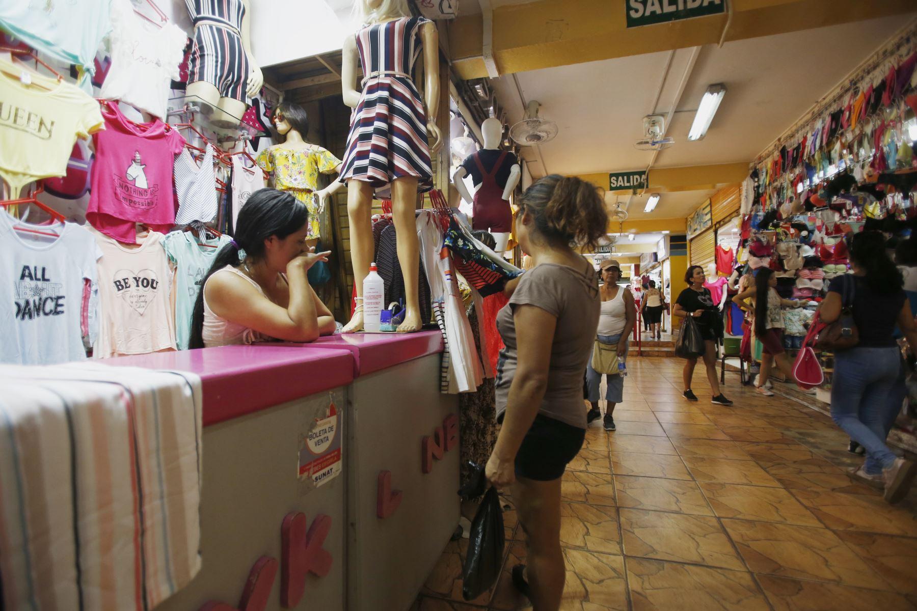 Emporio comercial de Gamarra abre nuevamente después del cumplimiento de cierre por 72 horas. Foto: ANDINA/Nathalie Sayago