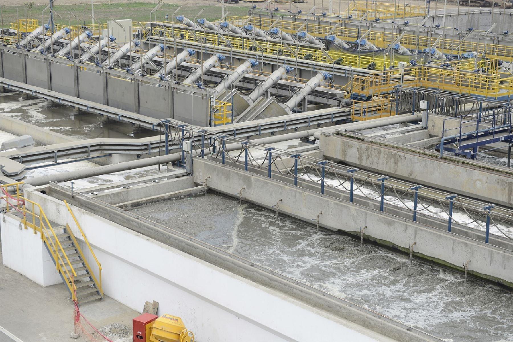 Planta de Tratamiento de Aguas Residuales (PTAR). Foto: Cortesía.