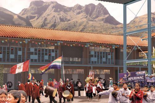 Modelo de Escuela Bicentenario para las zonas de la Sierra. ANDINA/Difusión