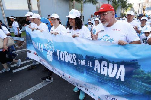 Caminata por el Día Mundial del Agua