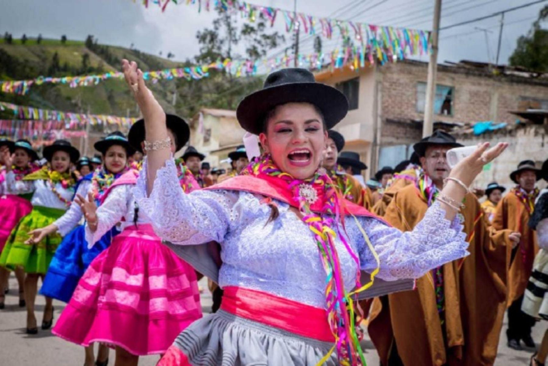Suman 19 los carnavales declarados Patrimonio Cultural de la Nación desde el año 2003 a la fecha. ANDINA/Difusión