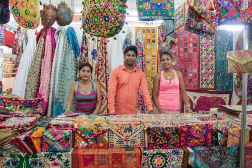 Feria India en Lima. Foto: Andina/Difusión