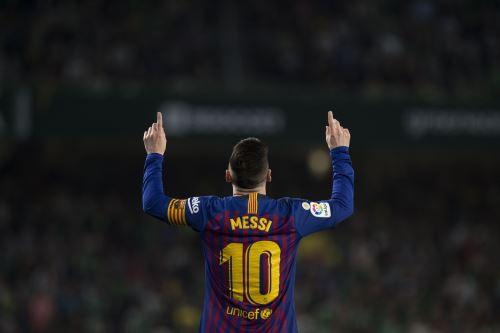 Barcelona golea 4 a 1 al Real Betis