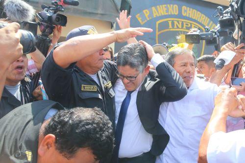 Secuencia fotográfica de la agresión al fiscal José Domingo Pérez