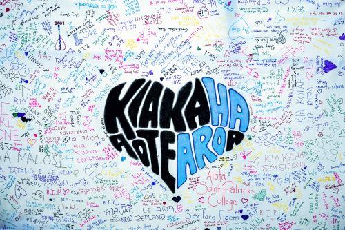 Homenaje a las víctimas de los ataques a la mezquita de Christchurch en Nueva Zelanda
