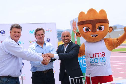 Lima 2019 presentó a Movistar como canal oficial de los juegos Panamericanos 2019