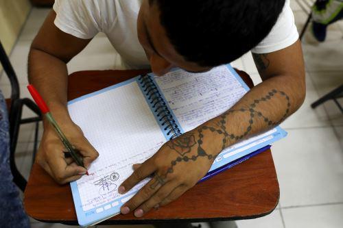 Penal de Lurigancho inicia año académico