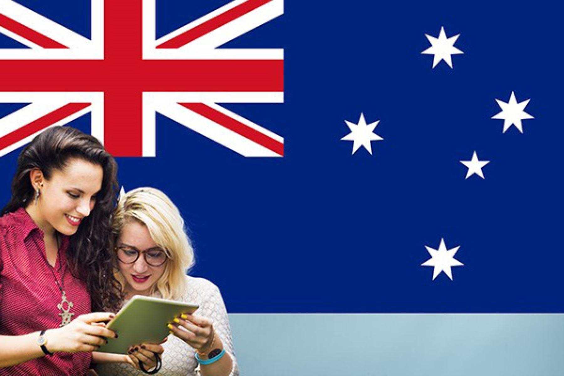 A partir del TLC firmado con ese país, los peruanos cuentan con preferencias para acceder a becas de estudio en Australia. Foto: Internet