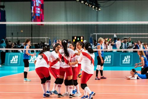 Selección peruana de vóley obtiene la medalla de oro en los Juegos Mundiales de Olimpiadas Especiales
