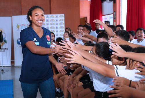 Panamericanos: campaña Callao es Lima 2019 promoverá el deporte en colegios