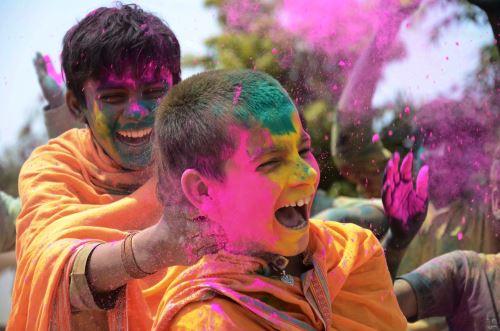 Festival Holi en la India y Nepal, una de las fiestas más coloridas del mundo