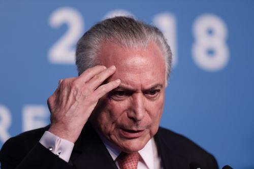 Detienen al expresidente brasileño Michel Temer por el caso Lava Jato.