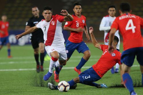 Perú  empató 0-0 con Chile por el Campeonato Sudamericano Sub-17 en el estadio UNMSM