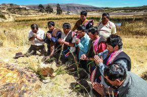El Yaky Raymi, o Fiesta del Agua, es la celebración andina que rinde homenaje al agua. ANDINA/Carlos Lezama