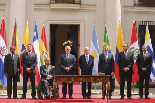 Encuentro de Presidentes de América del Sur 2019