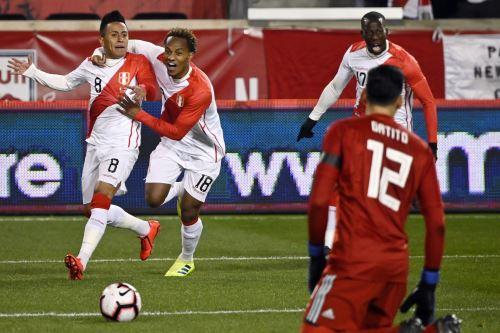 Selección peruana busca volver a ganar AFP