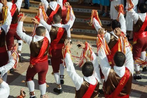 La danza de los guerreros cascabeleros de Kañaris (Lambayeque), que fue declarada Patrimonio Cultural de la Nación. Foto: ANDINA/Difusión