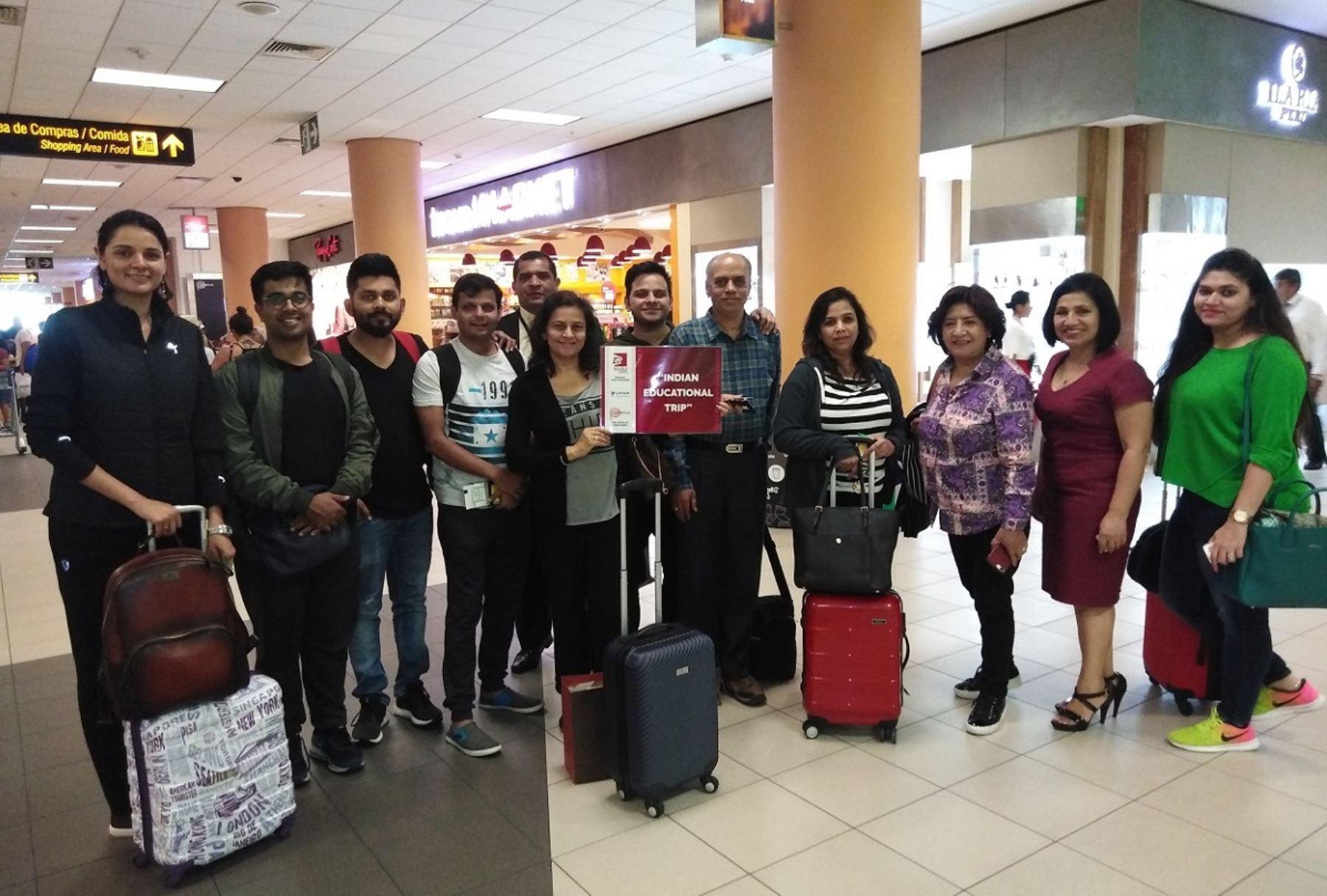 Operadores turísticos de la India visitan el Perú. Foto: Cortesía.