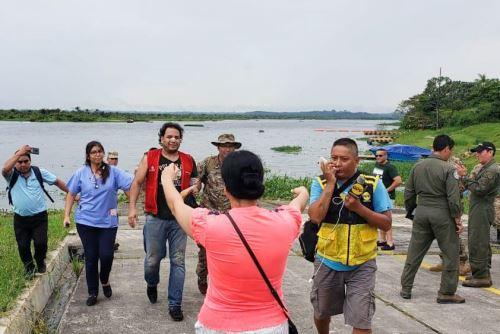 Rescatan con vida a los cuatro ocupantes de avioneta extraviada en Loreto