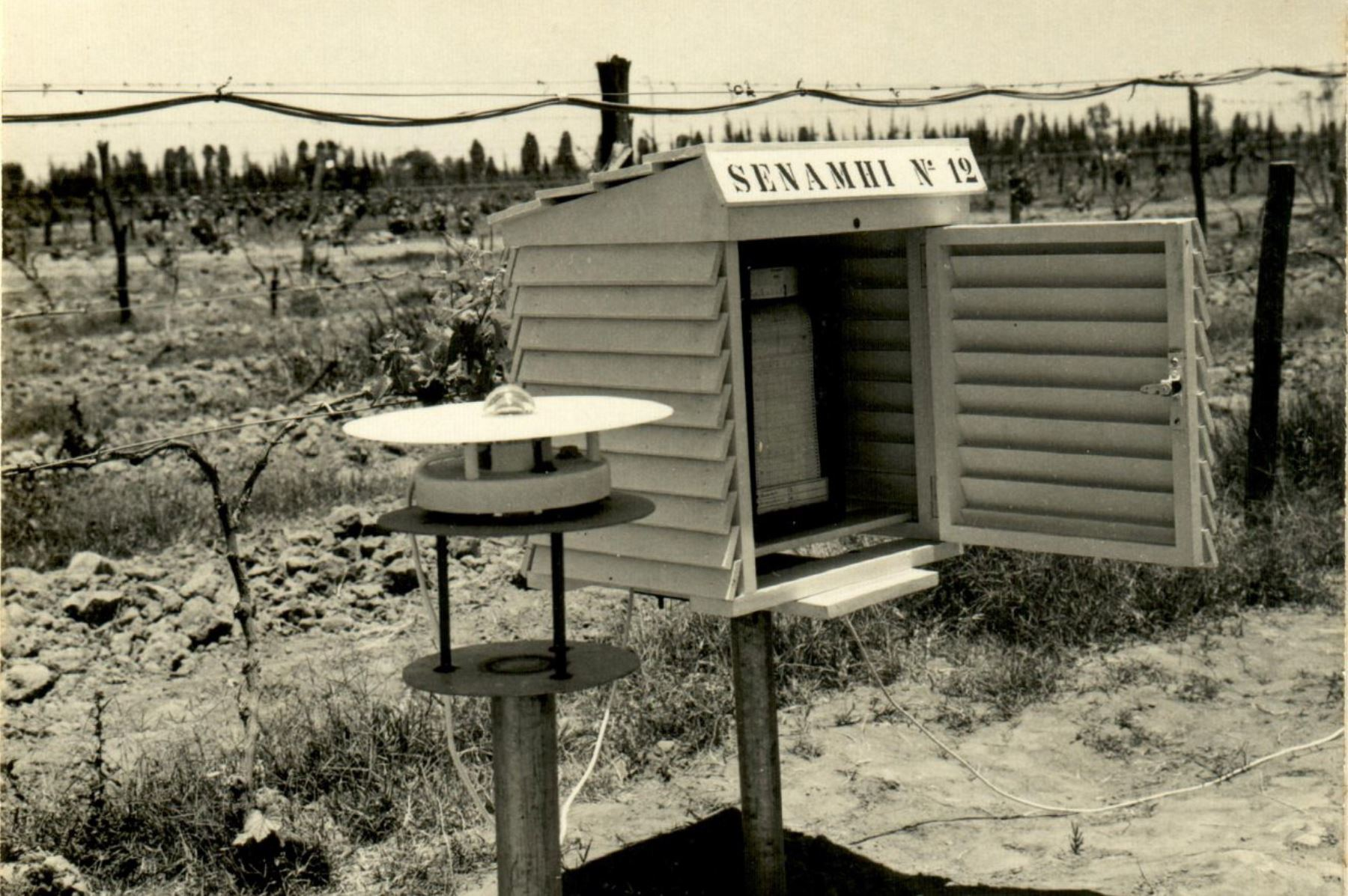 Estación antigua del Senamhi. Foto: Andina/difusión
