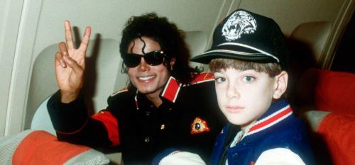 Foto usada en el documental Leaving Neverland.