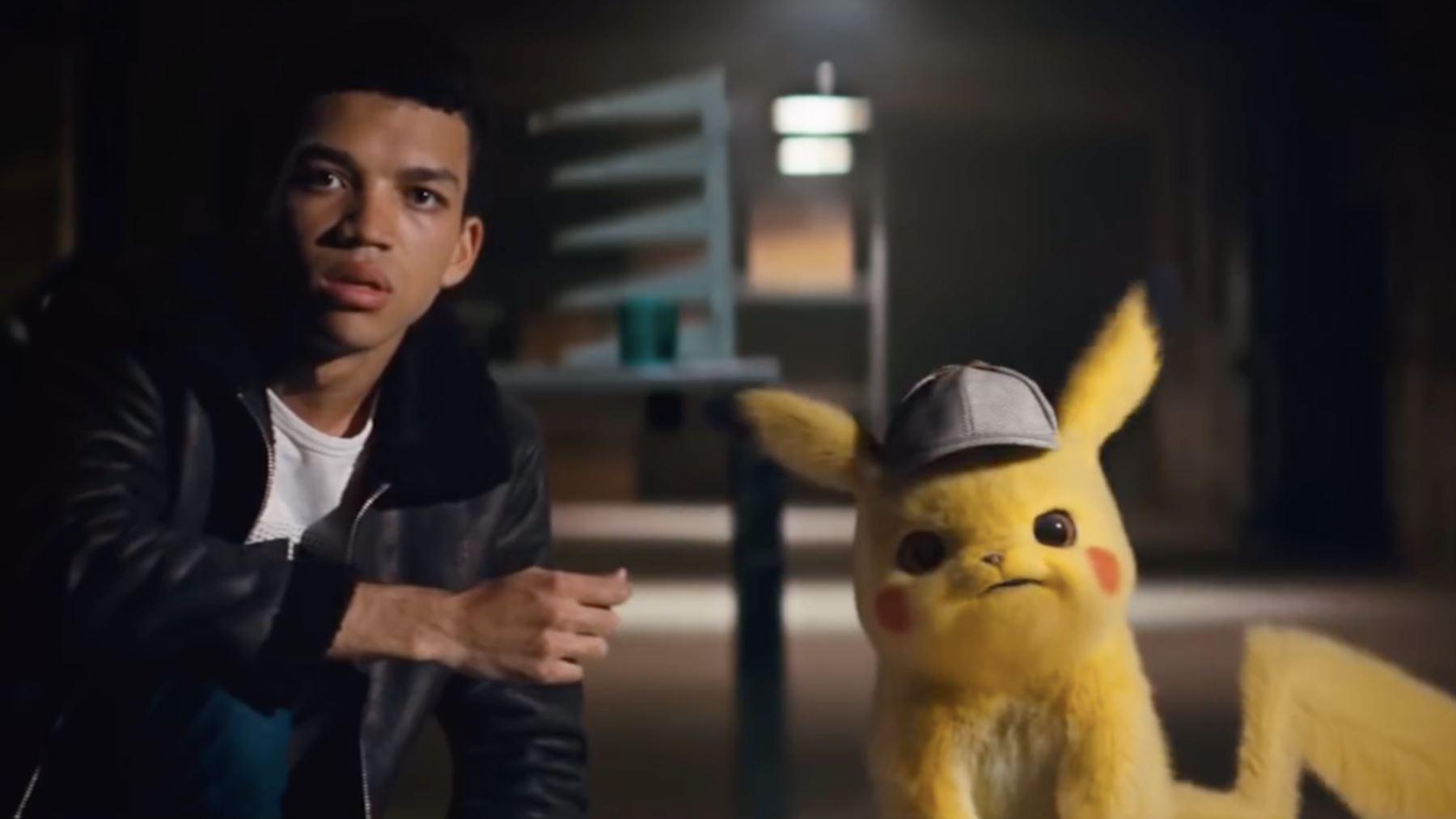 Protagonistas de Detective Pikachu