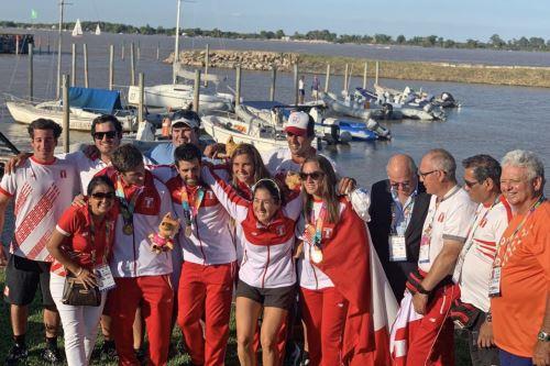 Medallistas peruanos en los Juegos Suramericanos de Argentina ANDINA/Difusión