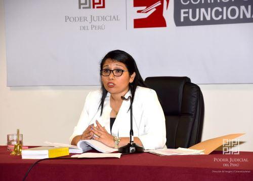 Jueza María Álvarez Camacho.