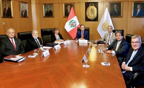Comisión Especial de la Junta Nacional de Justicia (JNJ).