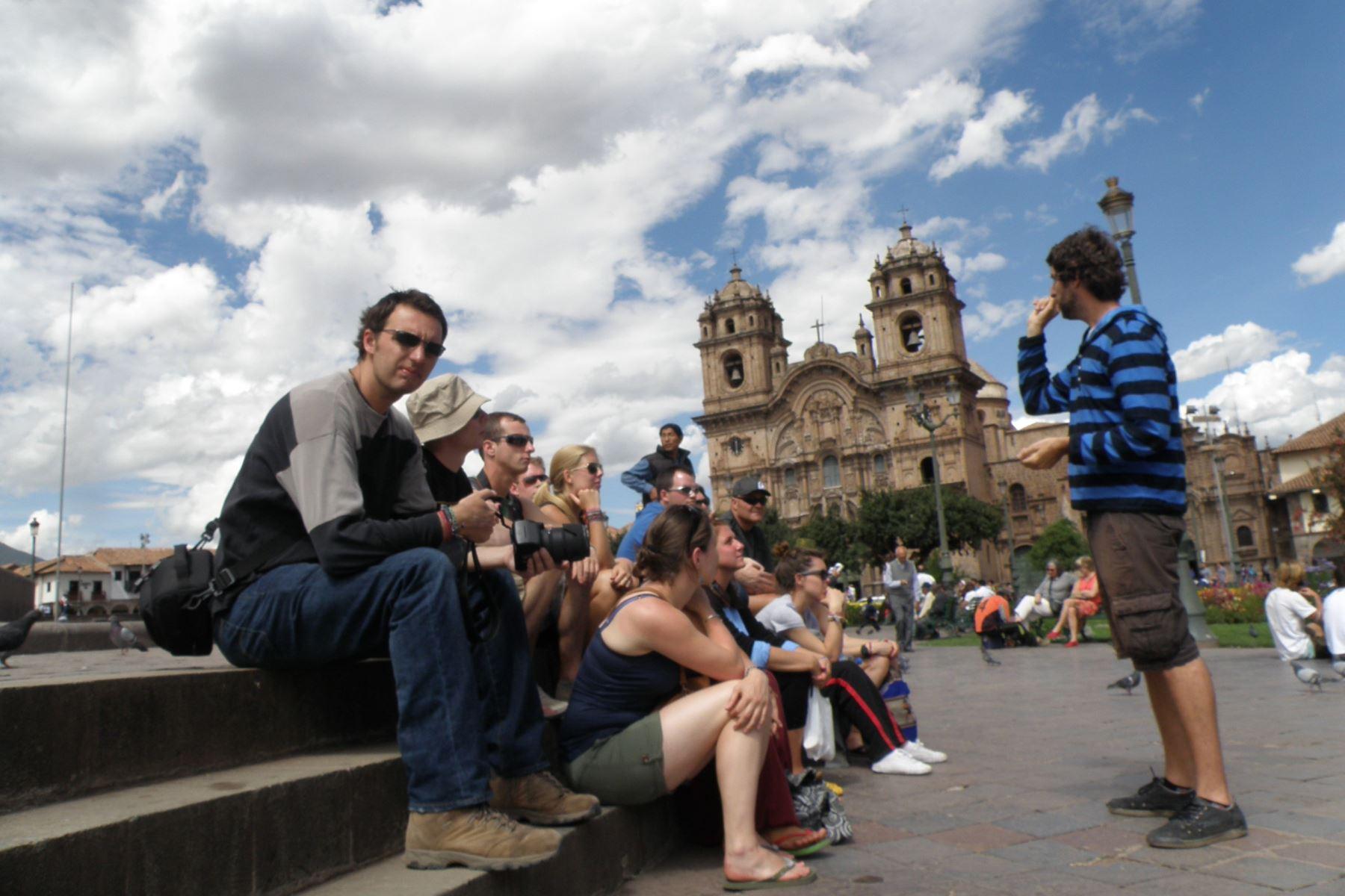"""Turismo cultural: 50% de visitantes extranjeros al Perú es """"millennial"""", según el Perfil del Turista Extranjero 2017 de Promperú. ANDINA/Archivo"""