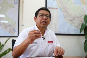 Ministro de Transportes y Comunicaciones, Edmer Trujillo. ANDINA/Vidal Tarqui