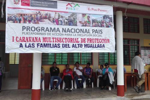 Con atenciones articuladas, de manera simultánea, y con un enfoque territorial se realizan las Caravanas de Protección a la Familia Rural del Ministerio de Desarrollo e Inclusión Social (Midis) en las regiones de Huánuco y Puno.