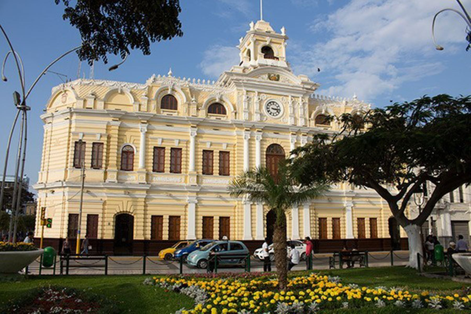 Palacio Municipal de Chiclayo, capital de la región Lambayeque