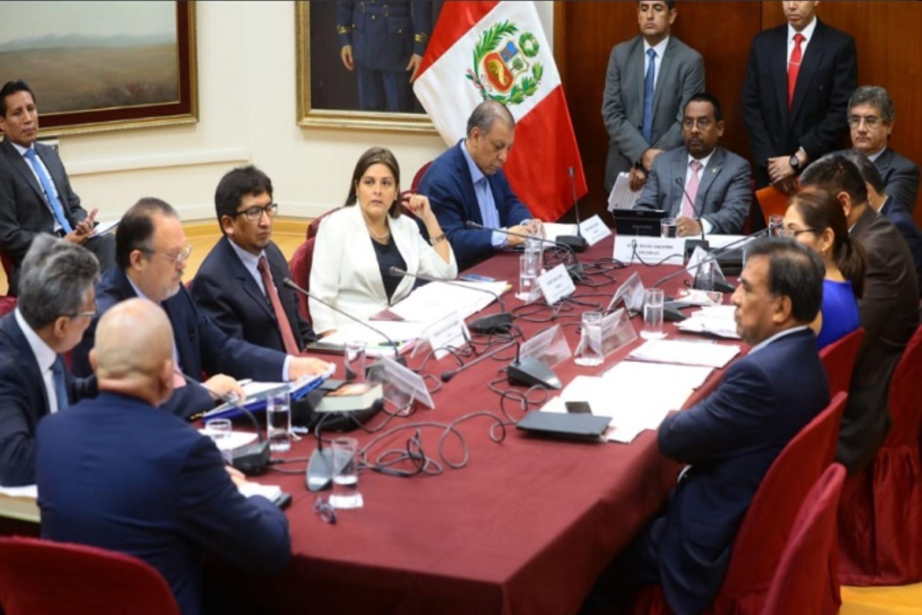 Subcomisión de Acusaciones Constitucionales del Congreso.