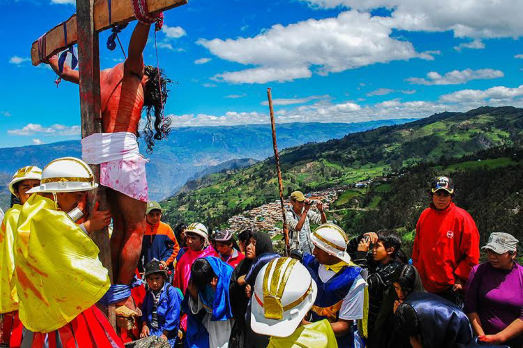 Áncash ofrece numerosos atractivos turísticos para la reflexión durante el feriado largo por Semana Santa. Foto: ANDINA/Gonzalo Horna