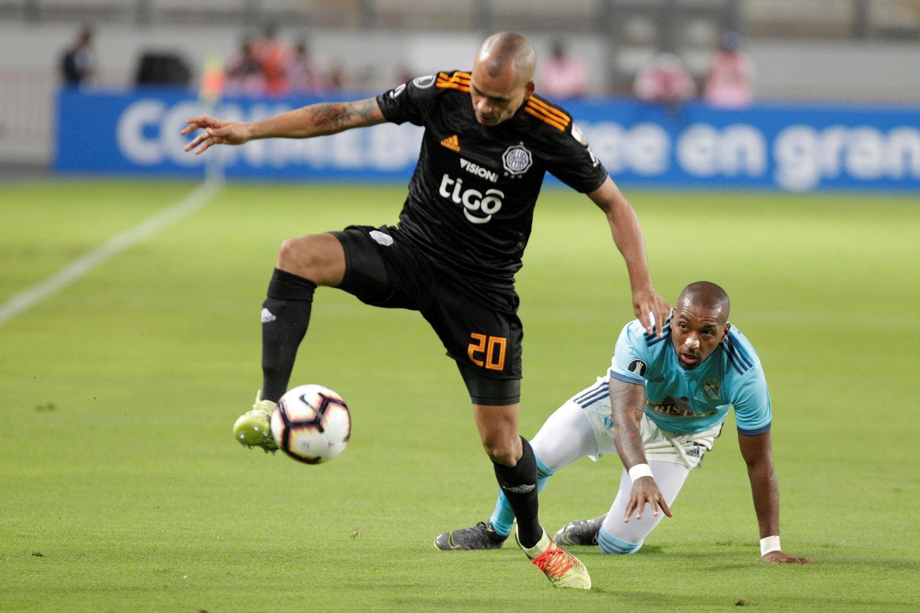 Sporting Cristal cayó ante Olimpia Foto: EFE