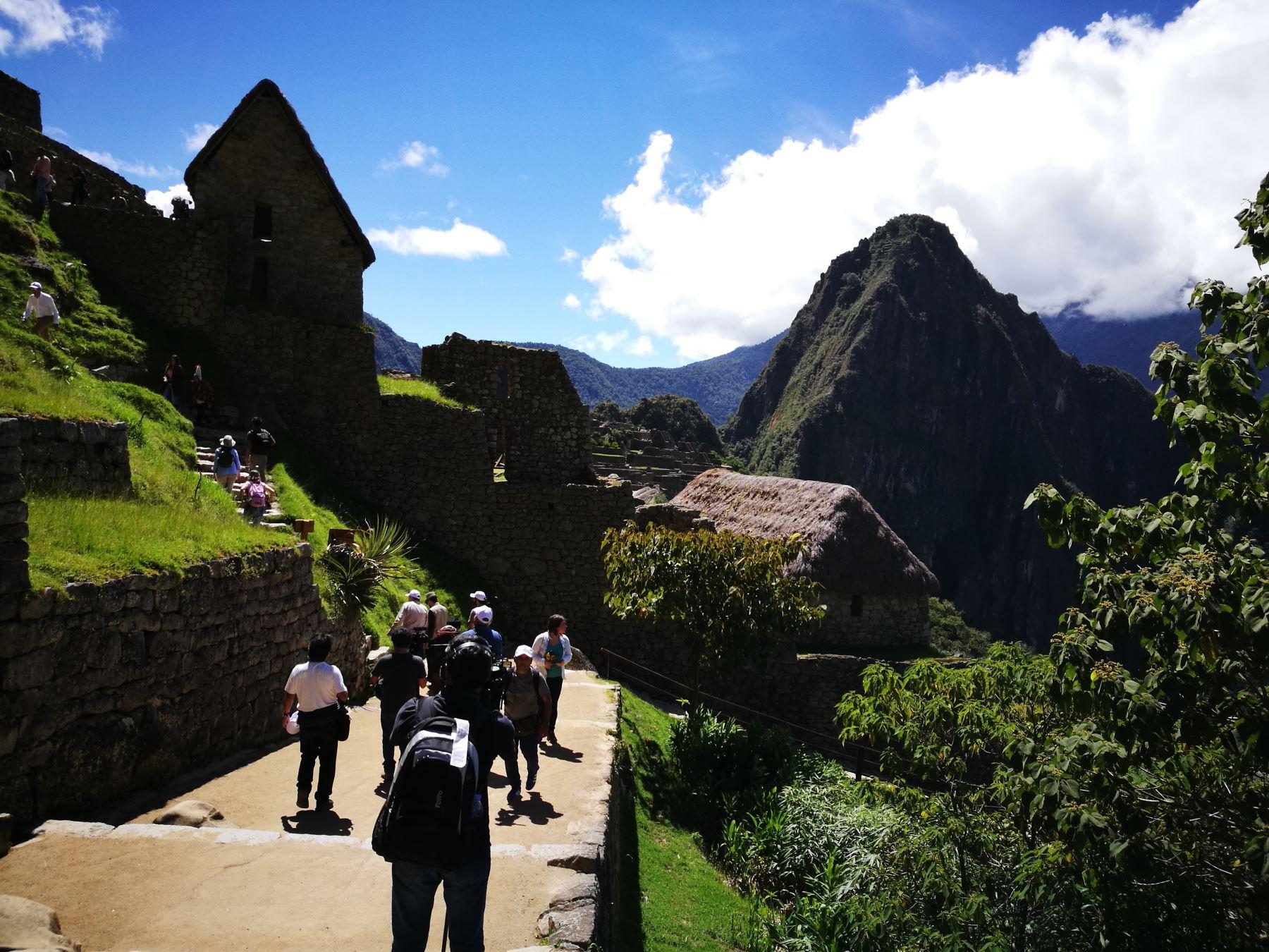 Autoridades unen esfuerzos para la conservación del Santuario Histórico Machu Picchu, en Cusco. ANDINA/Difusión