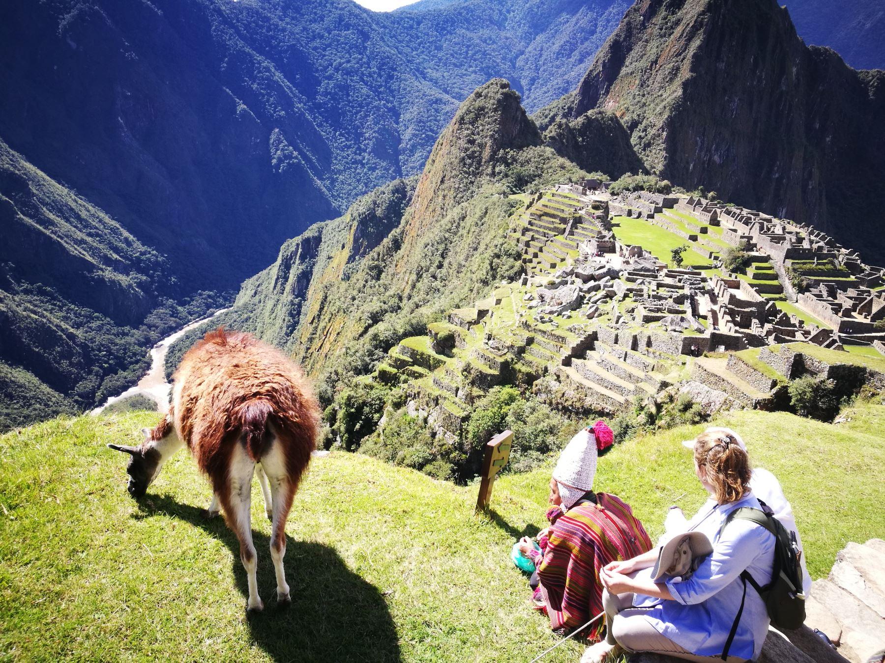 Ciudadela inca de Machu Picchu, una de las siete nuevas maravillas del mundo y principal destino turístico del Perú. ANDINA/Difusión