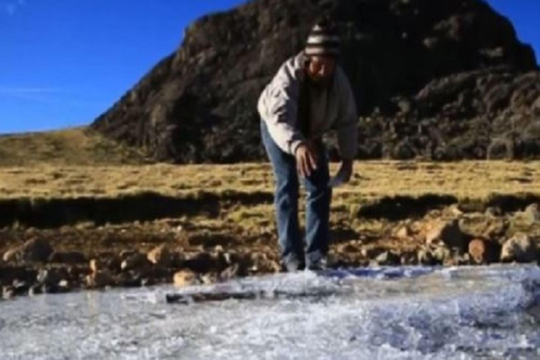 La temperatura más baja a nivel nacional se registró en el distrito de Tarata, en la provincia del mismo nombre, región Tacna, al reportar -10.6 grados Celsius en la estación Chuapalca del Servicio Nacional de Meteorología e Hidrología (Senamhi).