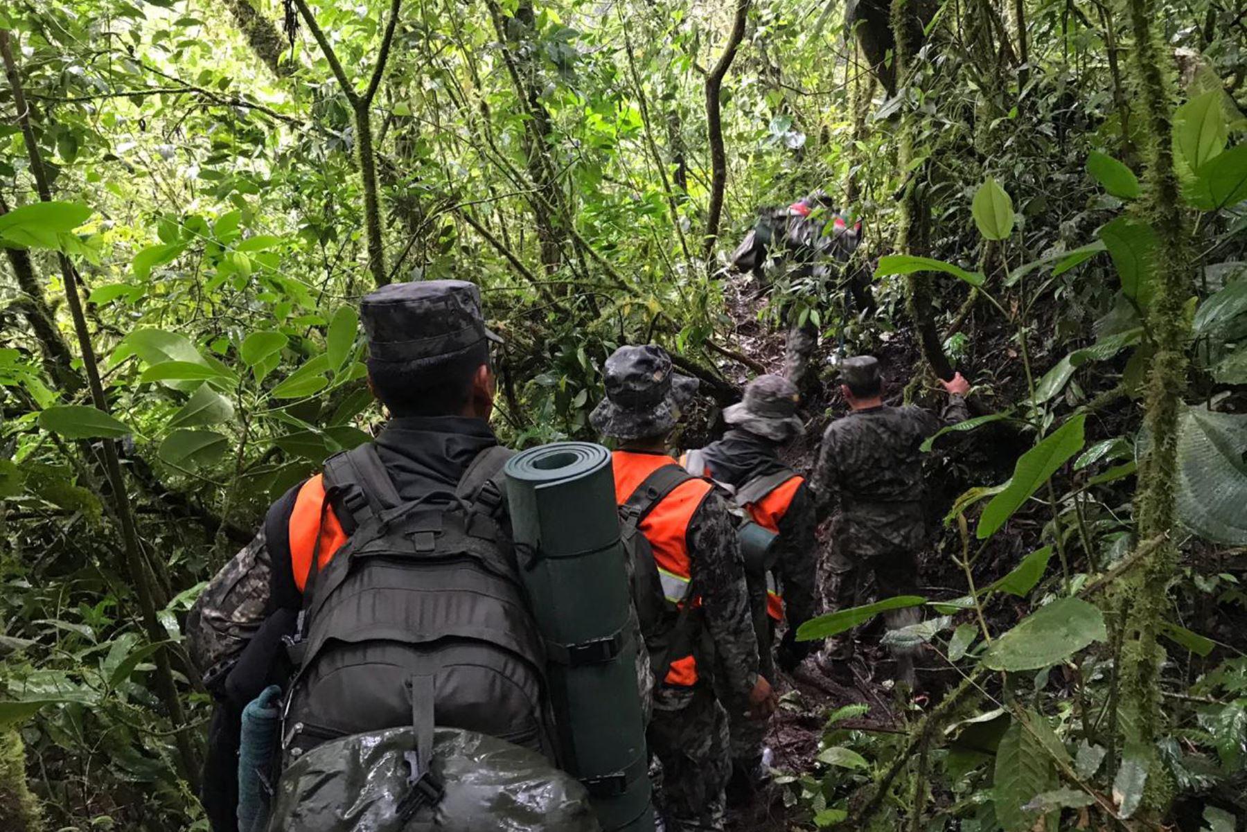 Patrullas del Comando Especial Vraem efectuaban una operación de reconocimiento y combate en las inmediaciones del centro poblado Valle Manantial, región Junín. Foto: ANDINA/Archivo
