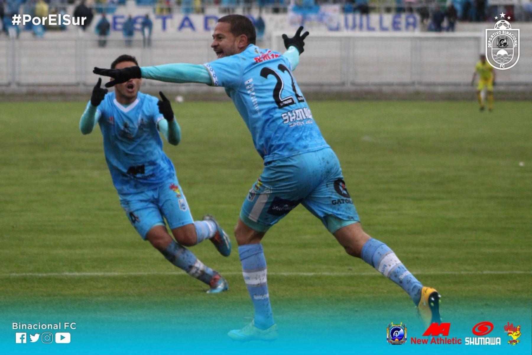 Binacional sorprende y es el líder de la Liga 1 del Perú Foto: Twiter Binacional
