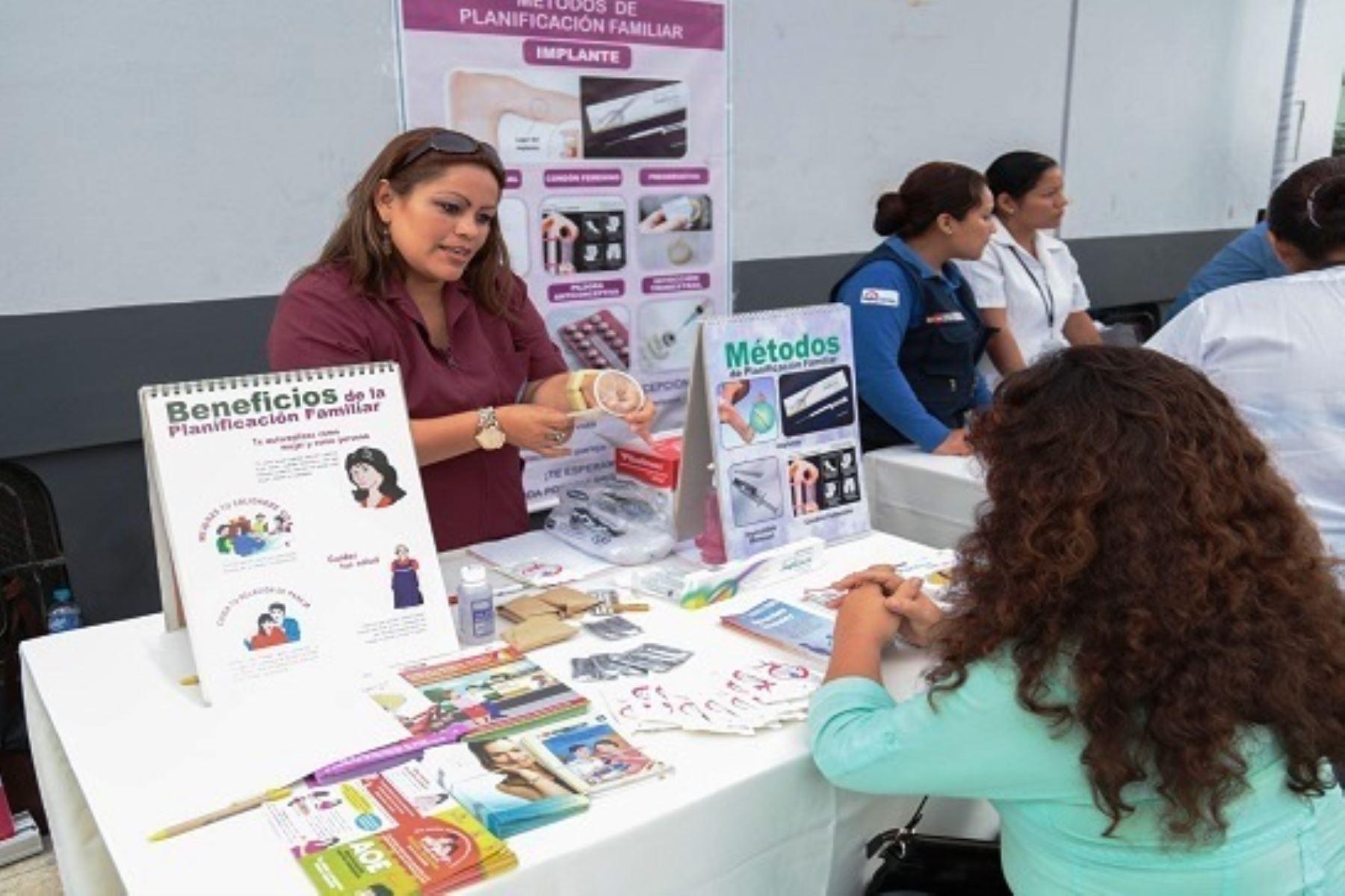 Minsa incrementa acceso a métodos anticonceptivos en mujeres y adolescentes. Foto: ANDINA/Difusión.