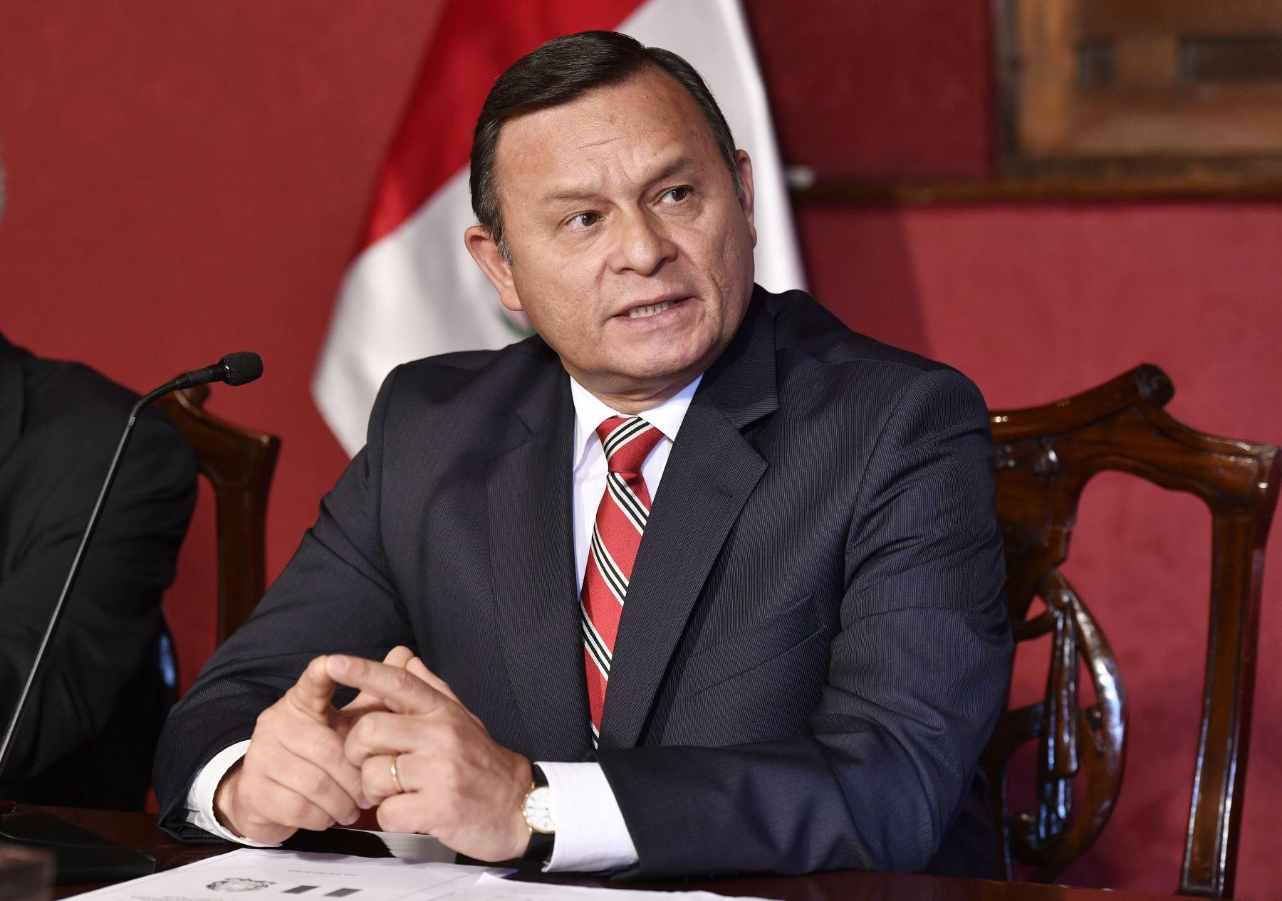 Canciller del Perú Néstor Popolizio, Foto: ANDINA/Cancillería del Perú