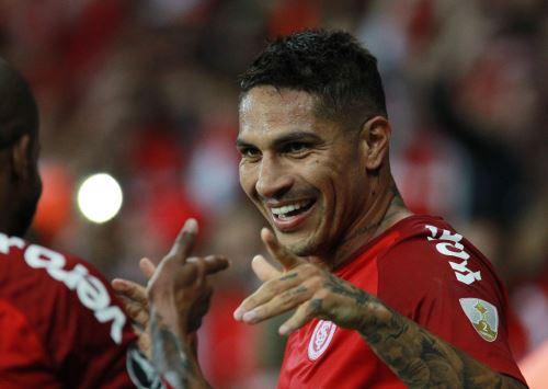 Paolo Guerrero a punto de ser historia con el Inter en Brasil