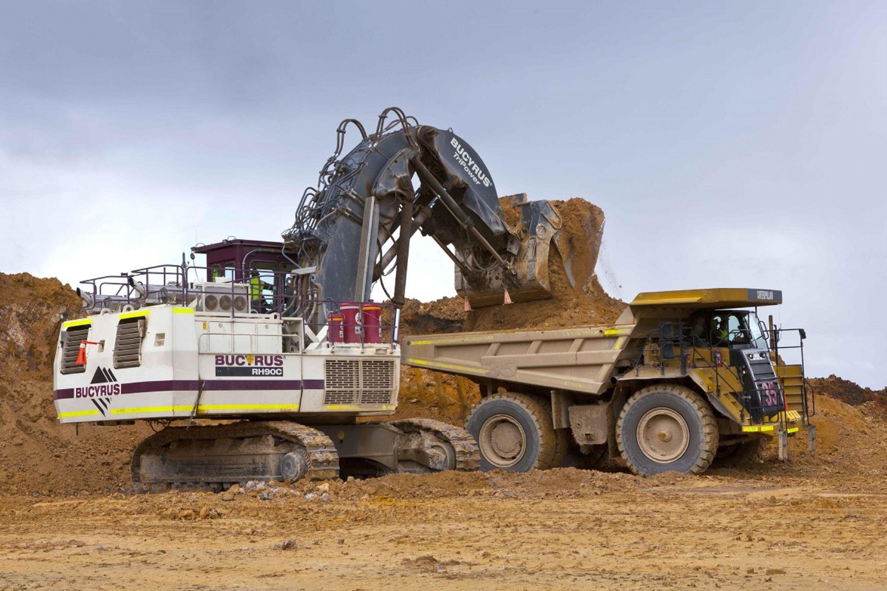 Actividad minera. Foto: Cortesía.