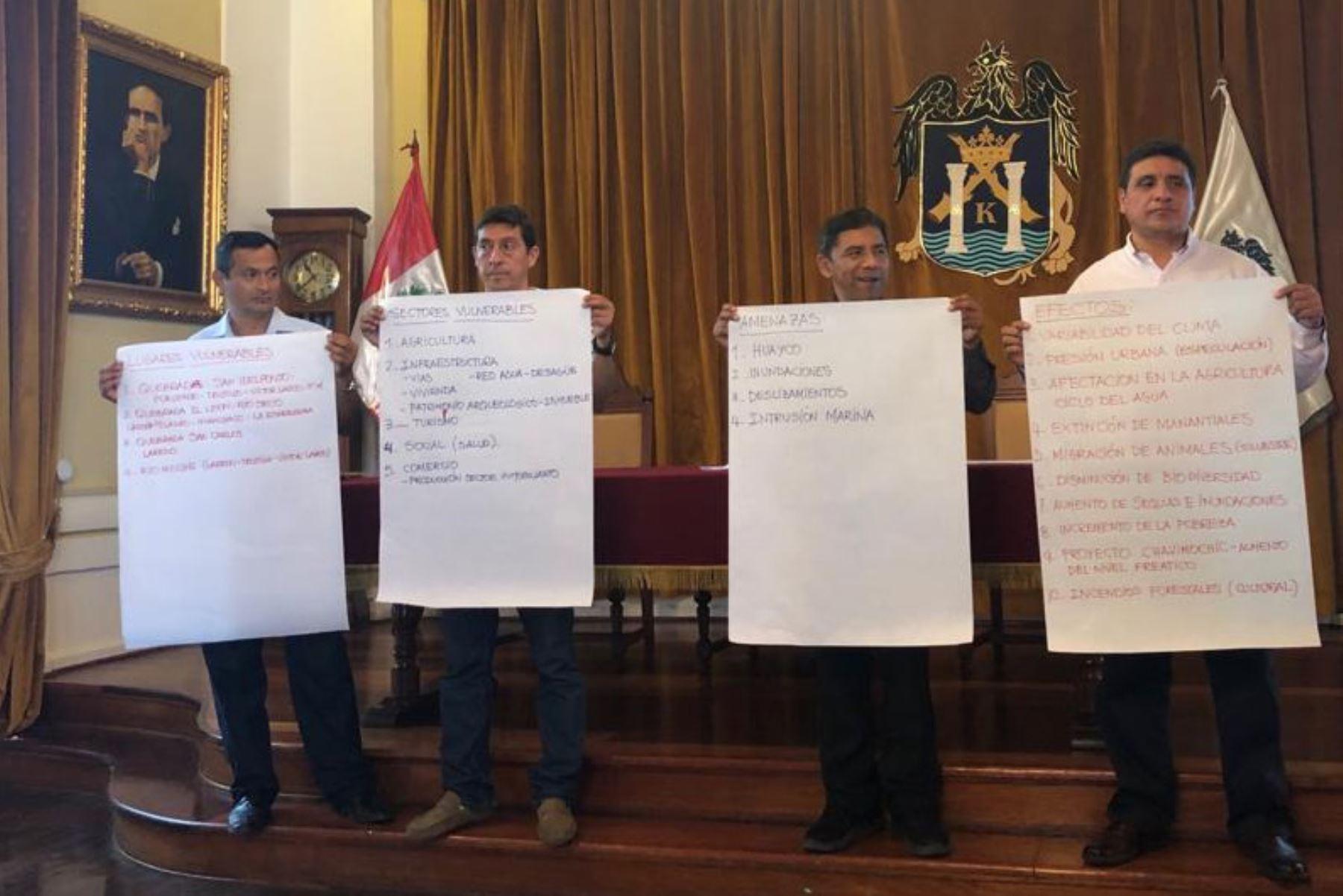 Ciudades de Piura y Trujillo medirán qué tan vulnerables son al cambio climático