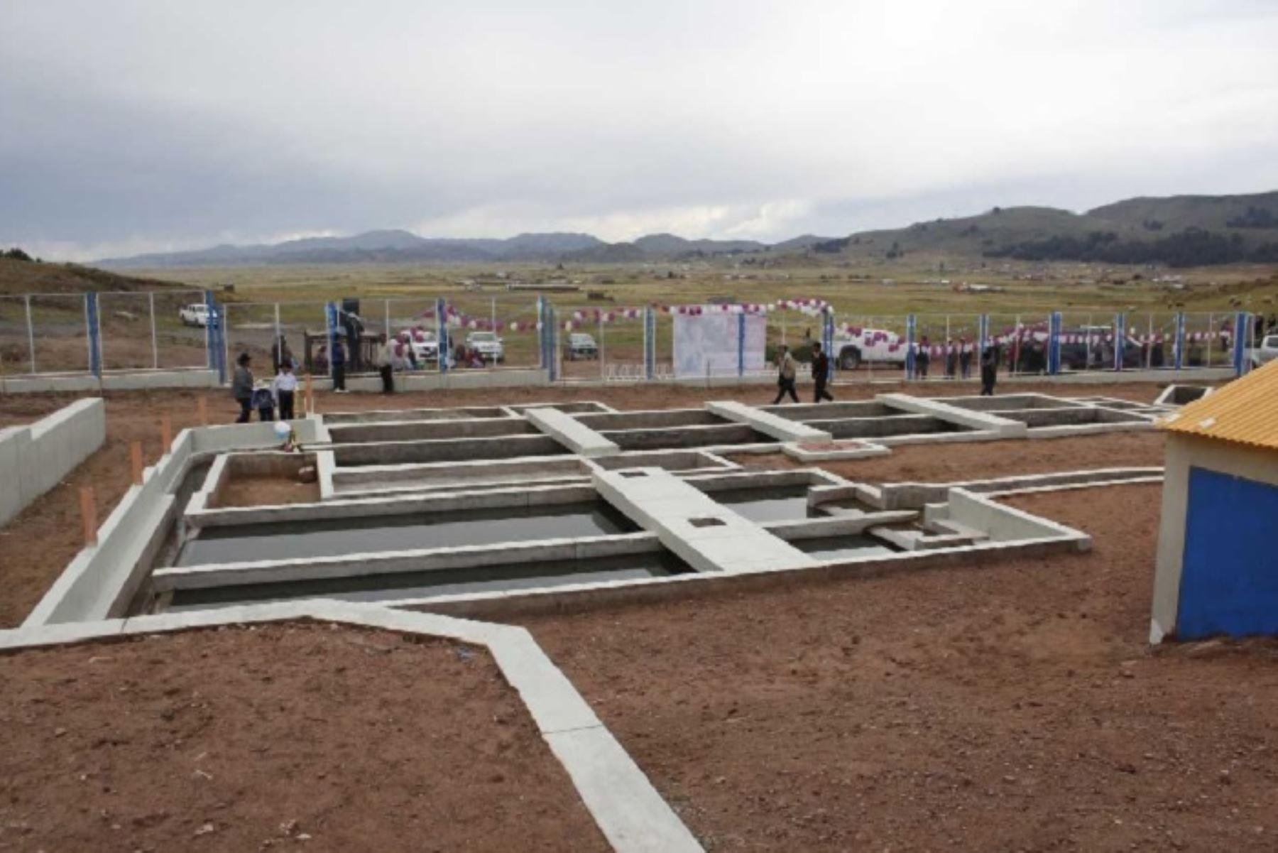 PTAR Titicaca es un proyecto de saneamiento integral del MVCS que beneficiará a más de un millón de habitantes de la región Puno. ANDINA/Difusión