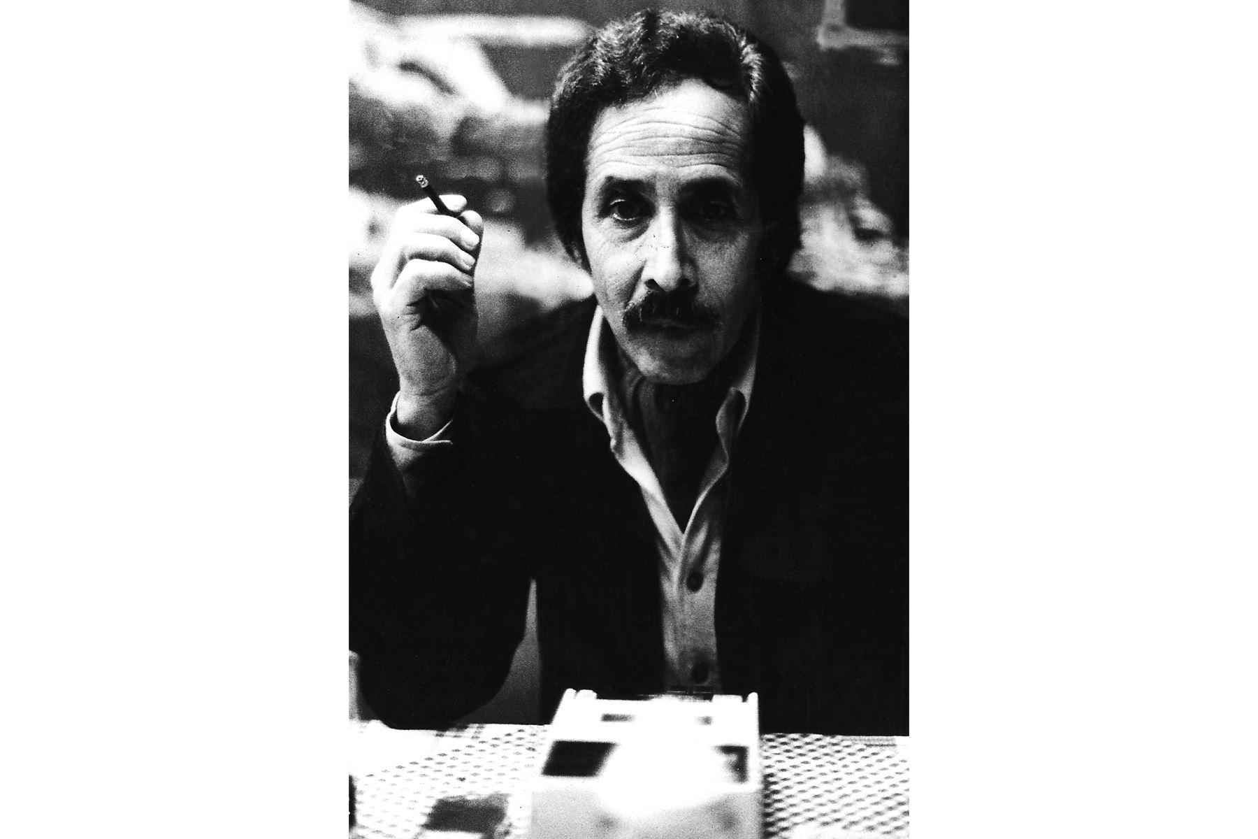 Un día como hoy, en 1924 nace el poeta y artista plástico Jorge Eduardo Eielson. Foto : Archivo diario El Peruano