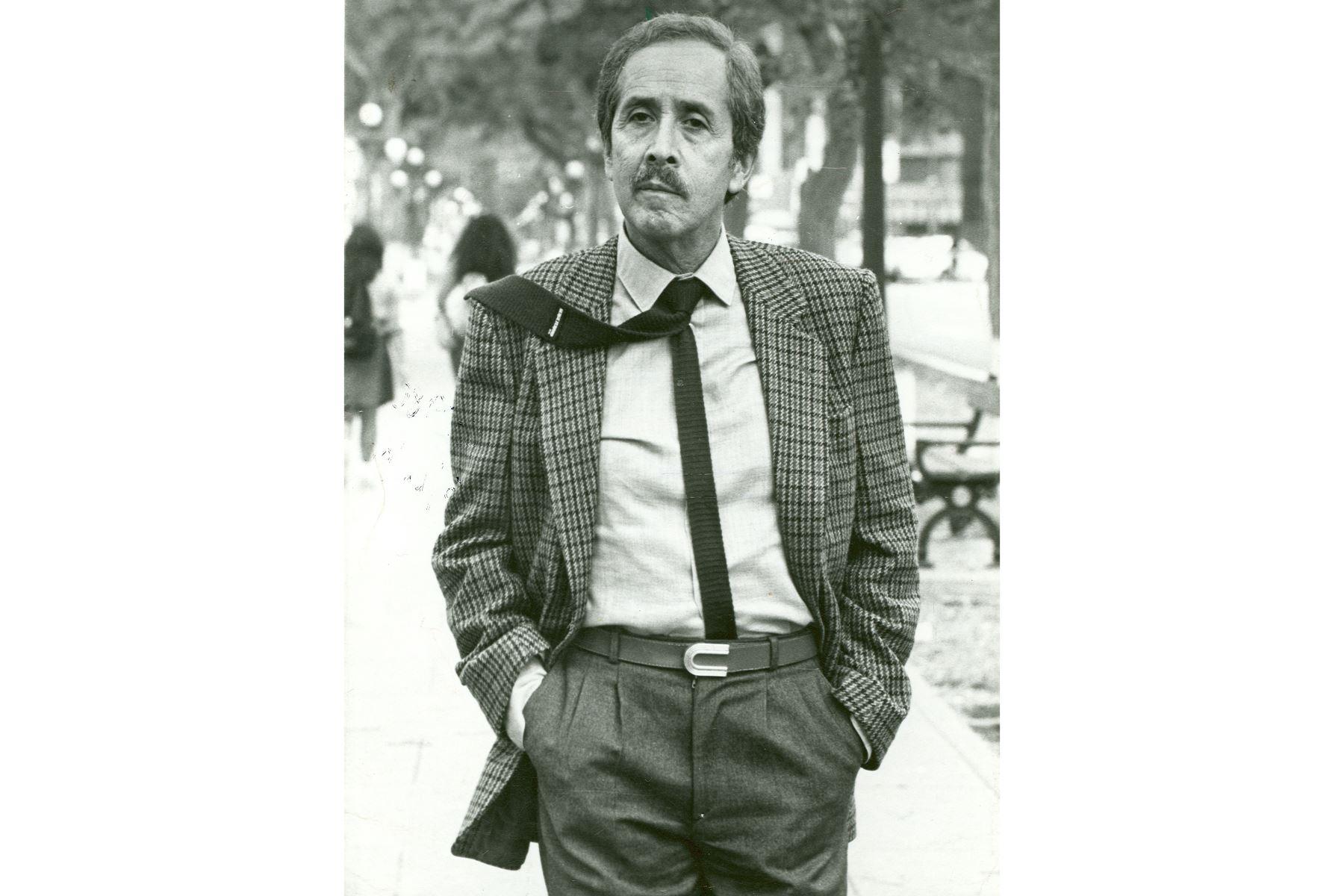 Jorge Eduardo Eielson,un grande de la poesía hispanoamericana que también deslumbró como artista plástico. Foto: Archivo el diario El Peruano